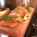 Cooking With A Himalayan Salt Tile   Meat, Fish, & Vegetables ..
