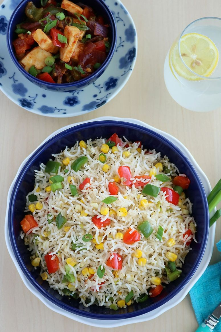 Corn Fried Rice - Simple Recipes Of Rice