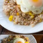 Corned Beef Fried Rice with Egg