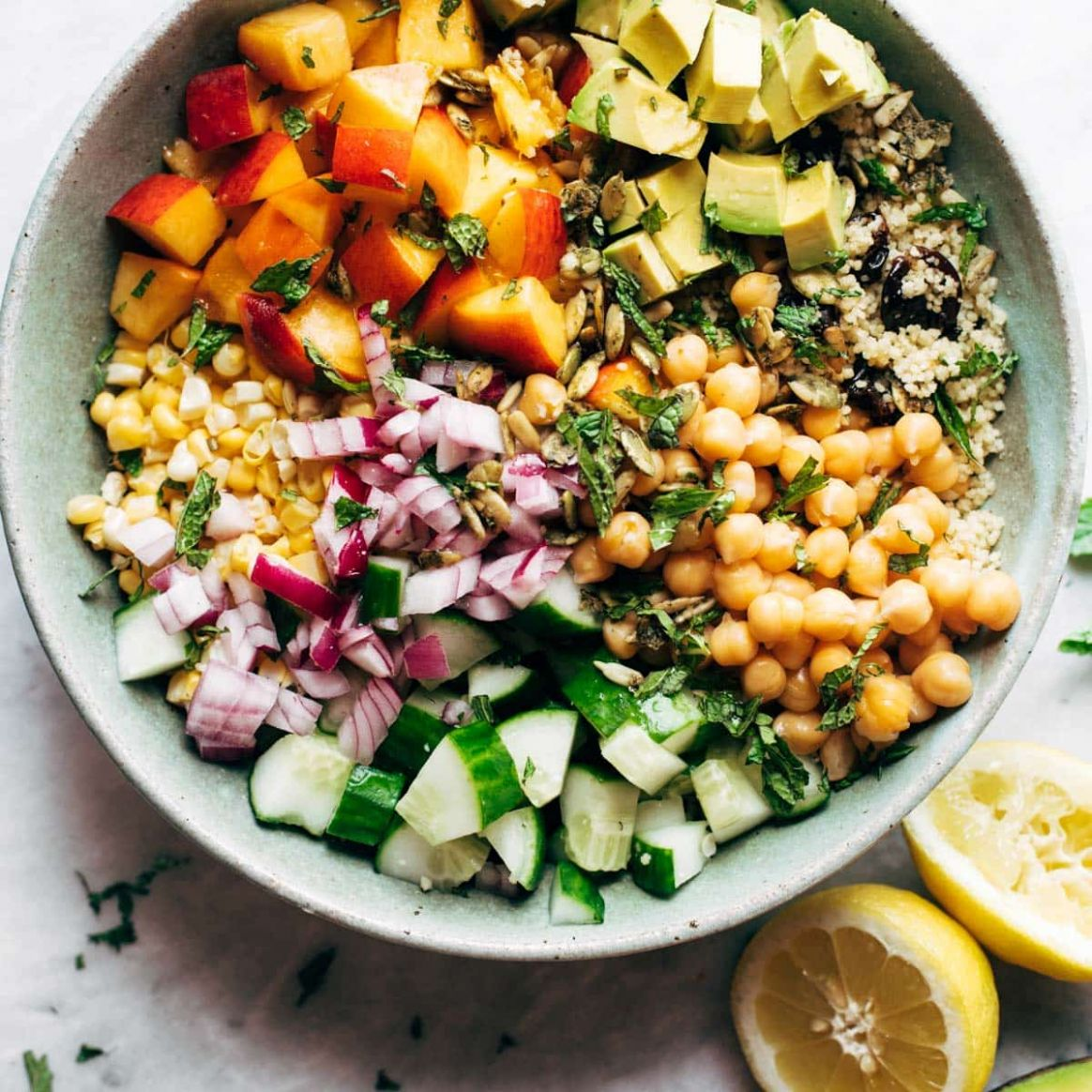 Couscous Summer Salad - Recipes Couscous Salad