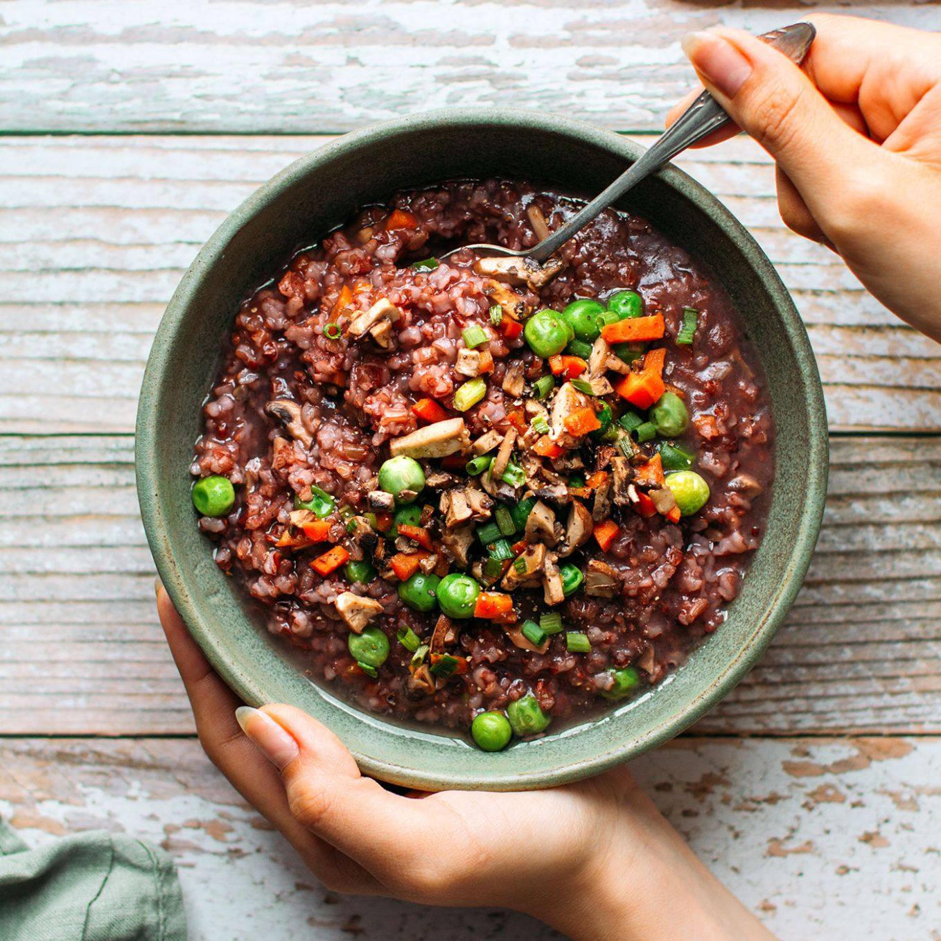 Cozy Red Rice Vegetable Soup - Recipes Red Rice