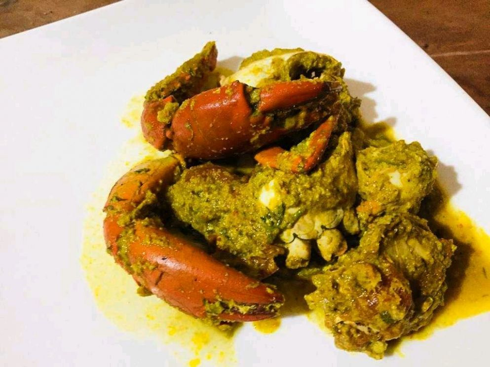 Crab Xec Xec (Authentic Goan Recipe) - Goan Food Recipes Xec Xec