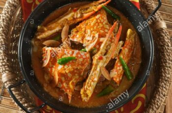 Crab Xec Xec. Goan crab and coconut curry. Goa India Stock Photo ...