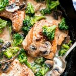 Creamy Broccoli and Mushroom Chicken