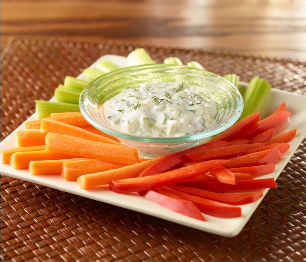Creamy Cucumber-Dill Dip | American Heart Association Recipes - Recipes Vegetable Dip