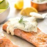 Creamy Dill Sauce With Salmon Or Trout – Recipe Fish Dill