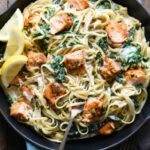 Creamy Salmon Pasta With Spinach – Recipes Pasta And Salmon
