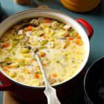 Creamy Vegetable Turkey Soup – Soup Recipes Taste Of Home