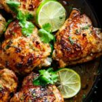 Crispy Cilantro Lime Chicken Thighs – Recipes Chicken On The Bone
