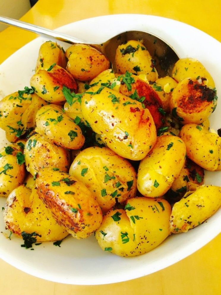 Crispy, golden brown and buttery, this Parisian potatoes recipe ..
