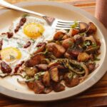 Crispy Home Fries With Red Onions And Roasted Poblano Pepper Recipe – Potato Recipes Home Fries