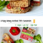 Crispy Honey Mustard Tofu Sandwich – Kelly Jones Nutrition – Sandwich Recipes Low Cholesterol