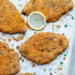 Crispy Oven Baked Chicken Cutlets Recipe | Healthy Fitness Meals – Recipes Chicken Breast Cutlets