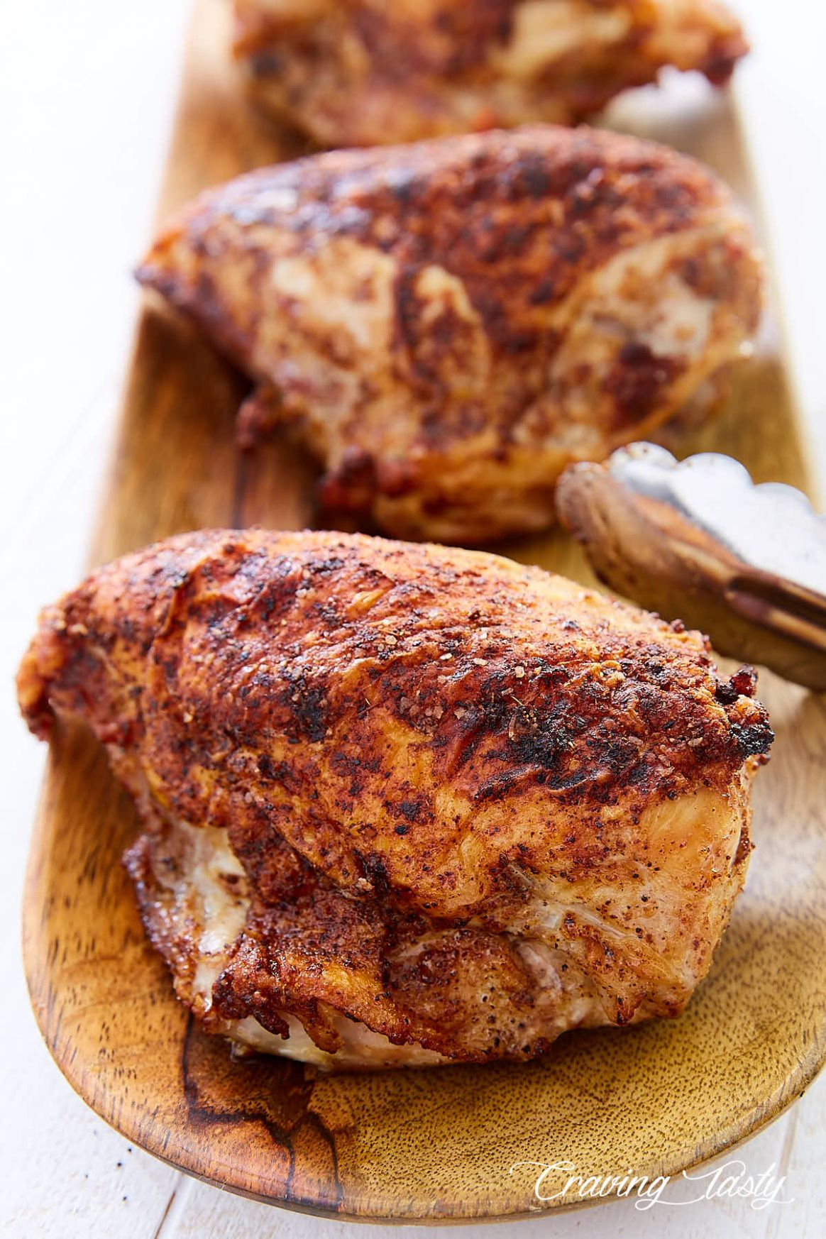 Crispy Oven Roasted Bone-In Chicken Breast - Recipes Chicken Breast On The Bone