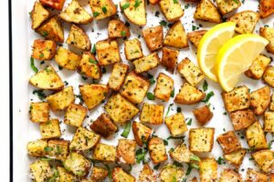 Crispy Roasted Potatoes (9 Ways!)