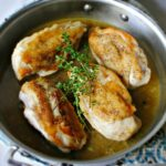 Crispy Skinned Pan Roasted Chicken Breasts + Rosemary Thyme Pan ..