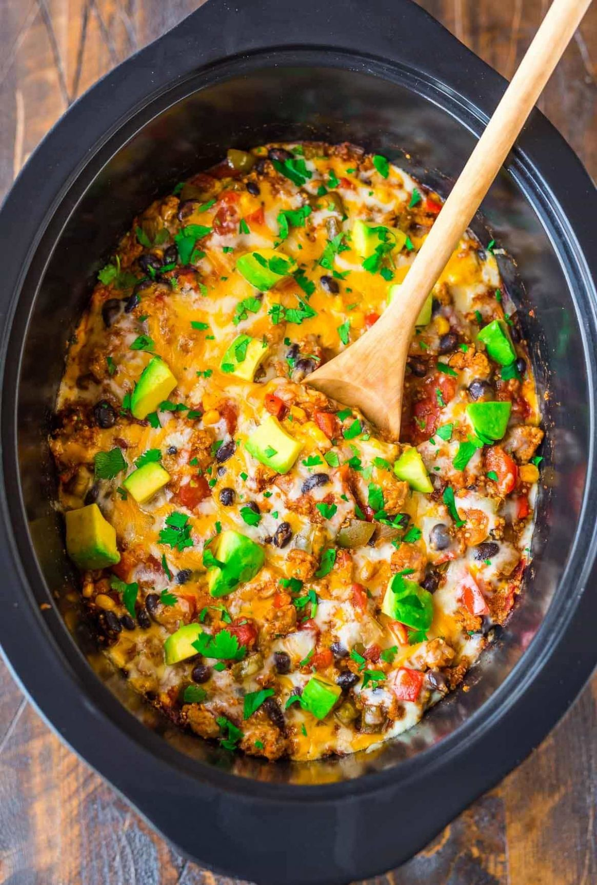 Crock Pot Mexican Casserole - Simple Recipes Slow Cooker