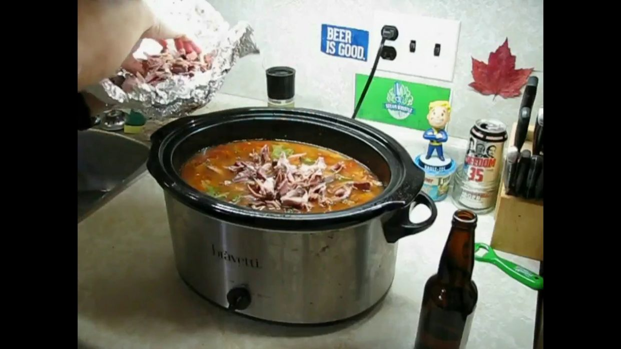 Crock Pot Smoked Pork Hock Soup - Bastard Style - Recipes Pork Hocks Slow Cooker