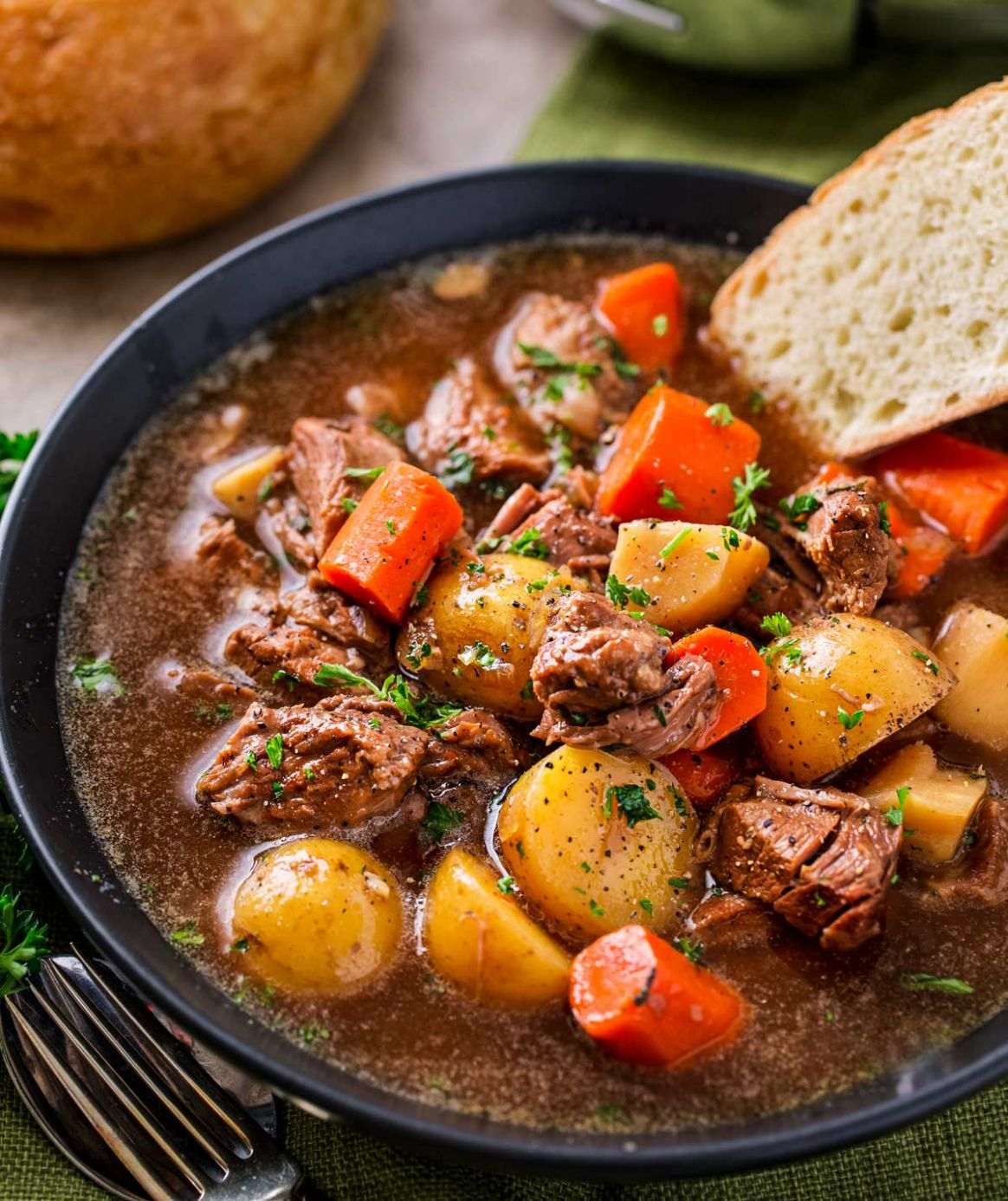 Crockpot Beef Stew - Summer Recipes With Stew Meat
