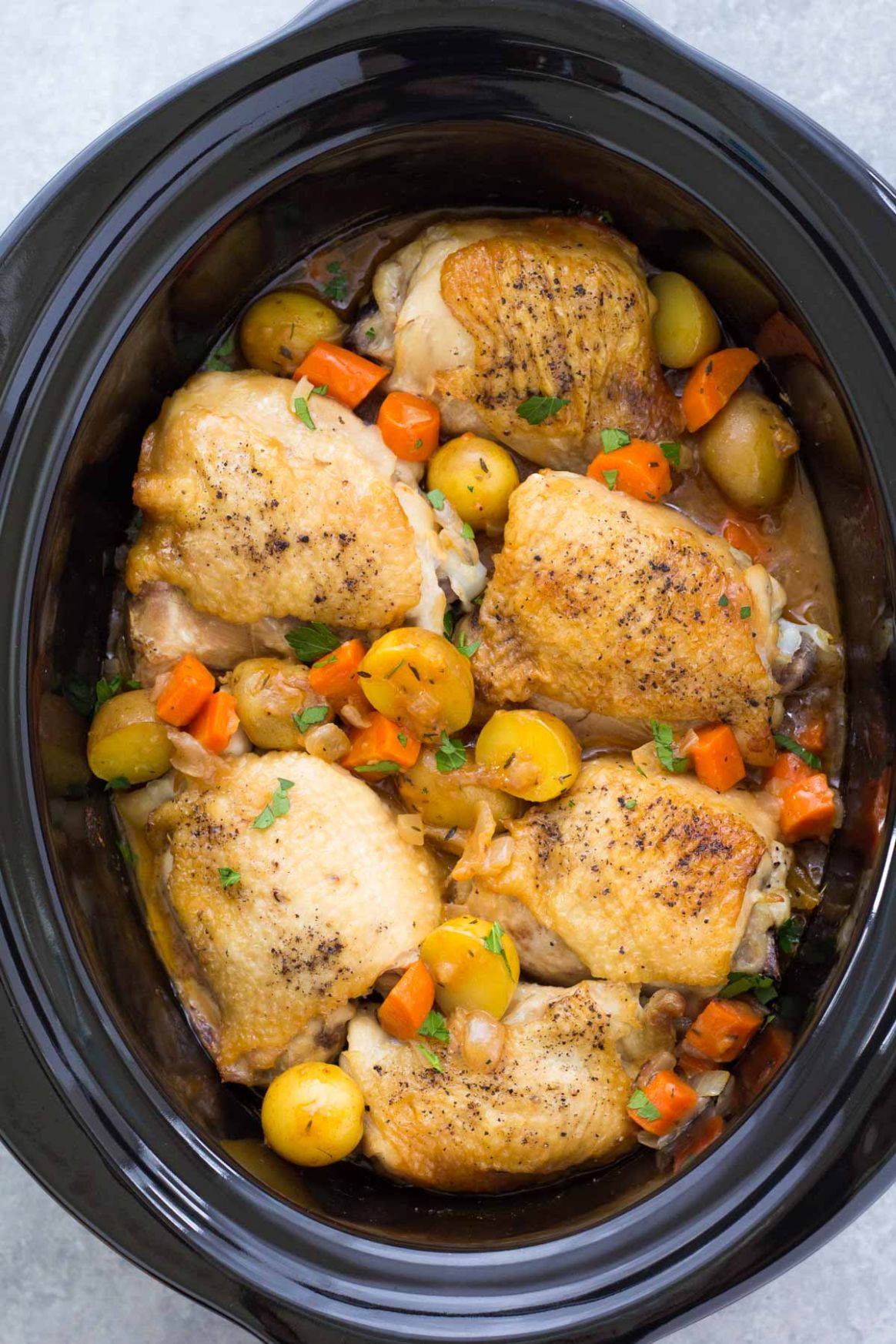 Crockpot Chicken and Potatoes - Recipes Chicken Breast Crock Pot