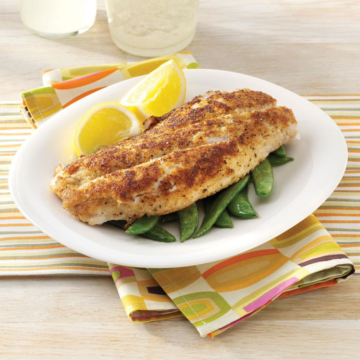 Crumb-Coated Red Snapper - Recipes Red Fish