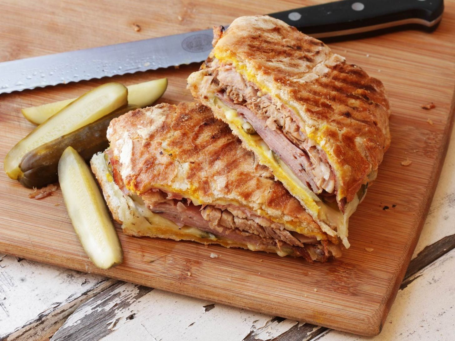 Cuban Sandwiches Recipe - Recipes Sandwich Press
