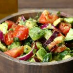 Cucumber, Tomato, And Avocado Salad Recipe By Tasty – Recipes Salad With Avocado And Tomato