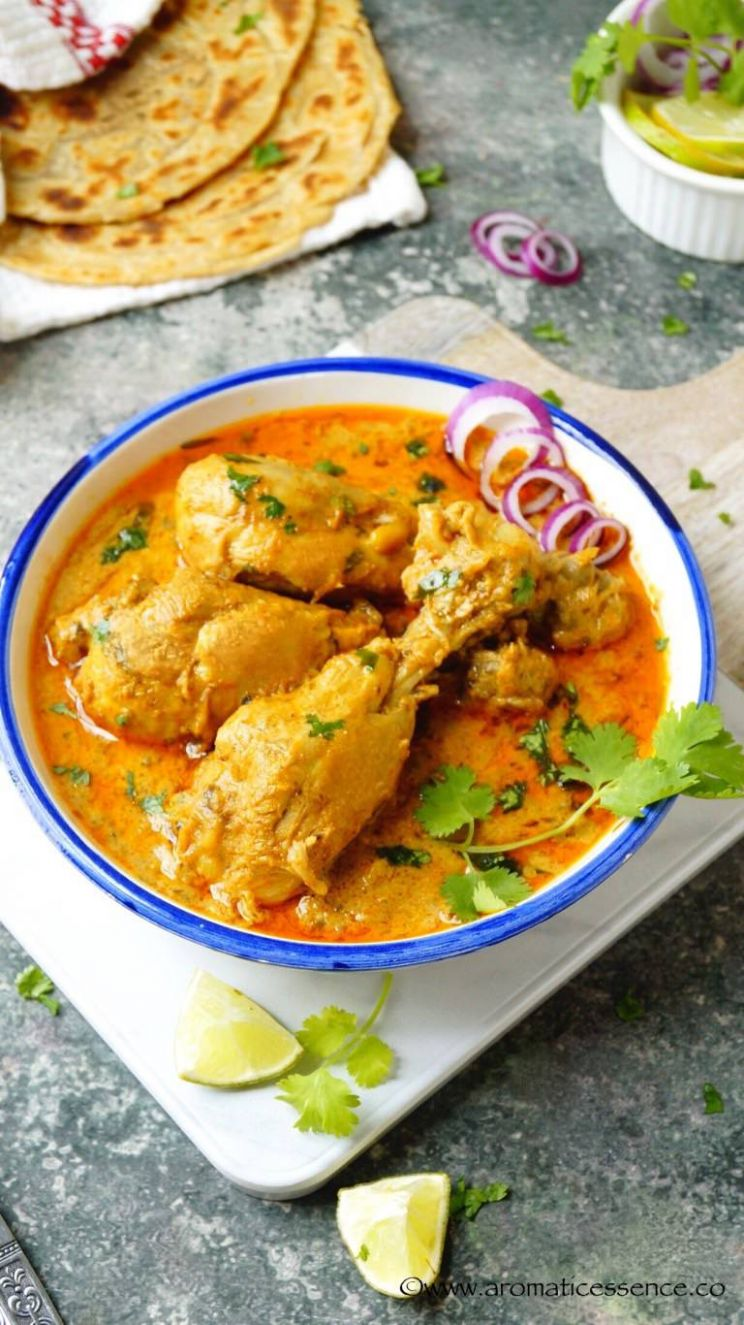 Dahi Chicken | Yogurt Marinated Chicken Curry - Recipe Chicken Yogurt Curry