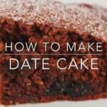 Date Cake Recipe – Cake Recipes Video Youtube