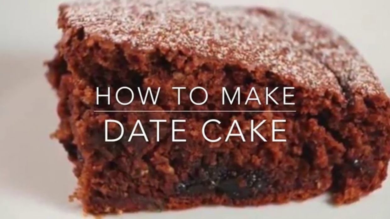 Date Cake Recipe - Cake Recipes Video Youtube