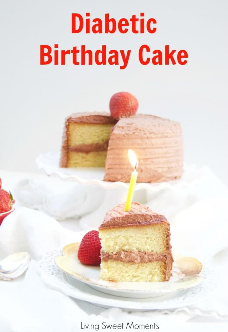 Delicious Diabetic Birthday Cake Recipe - Recipes Cakes For Diabetics