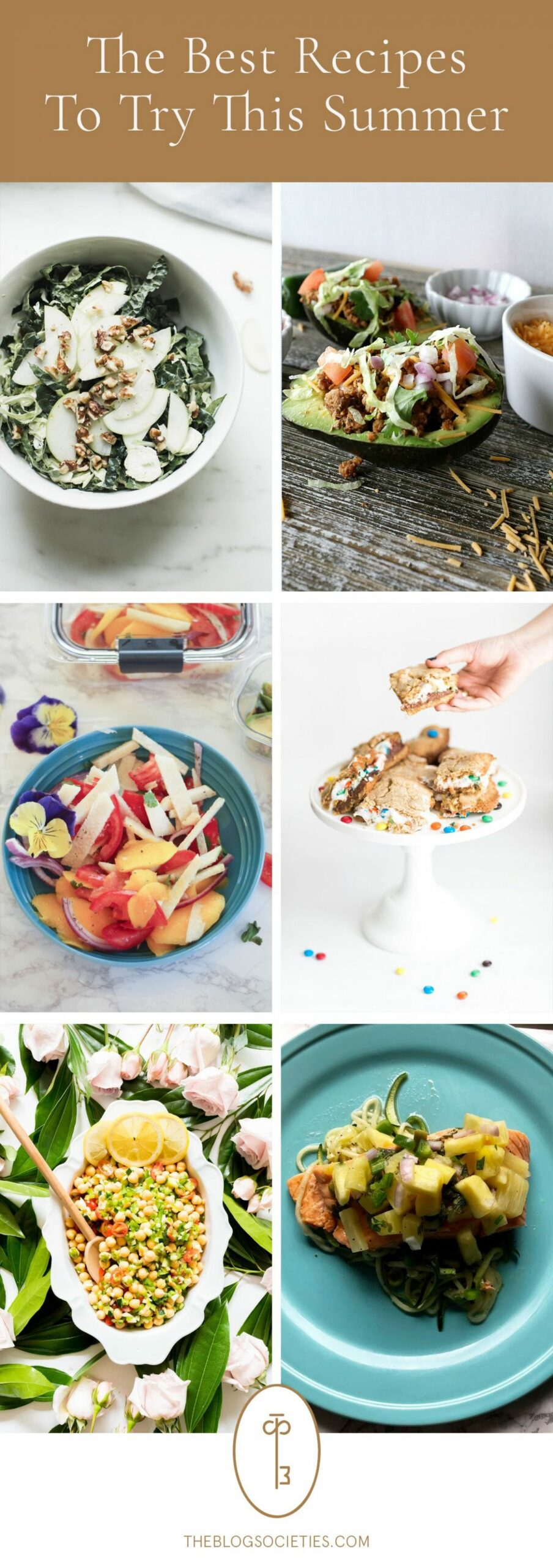 Delicious Summer Recipes To Try - The Blog Societies   Summer ..