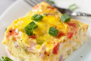 Denver Omelette Egg Bake