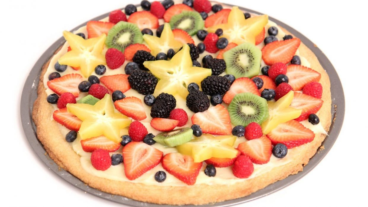 Dessert Pizza Recipe - Pizza Recipes Laura Vitale