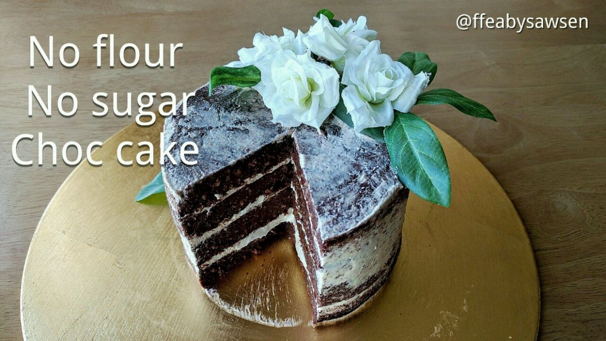 Diabetic chocolate cake recipe - flourless, no sugar, low carb - Recipes Cake For Diabetics