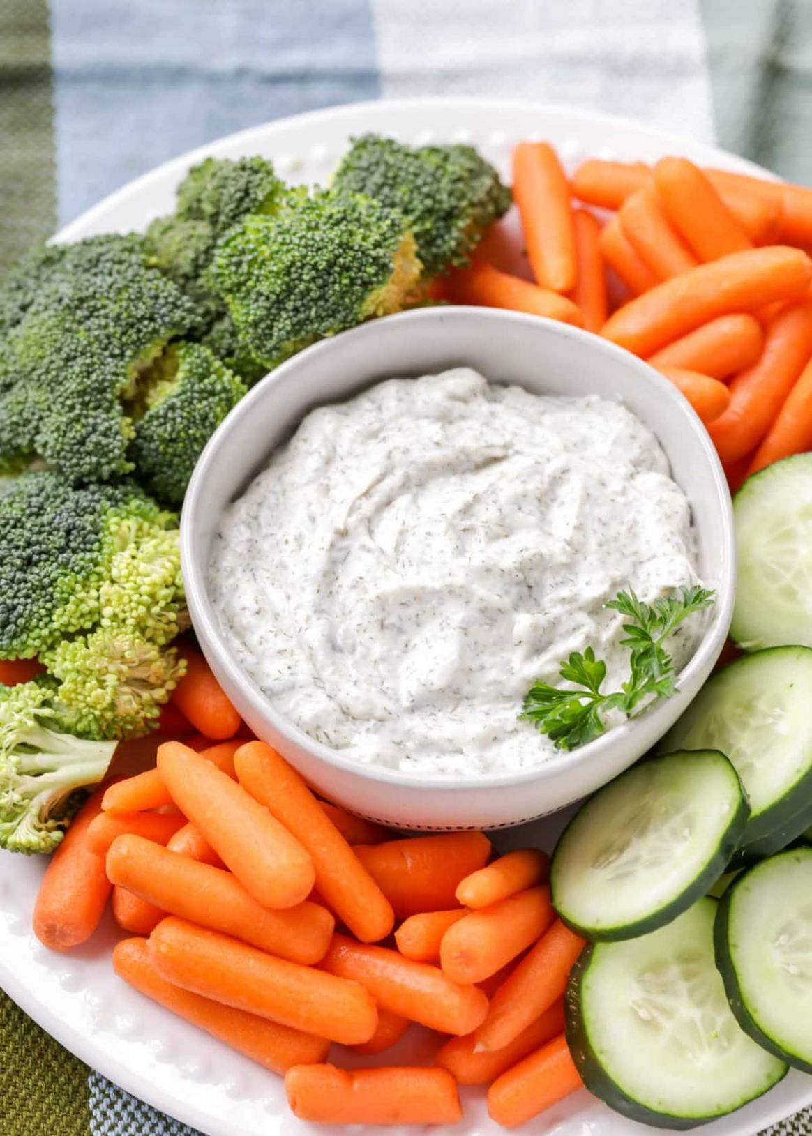 Dill Vegetable Dip Recipe - Recipes Vegetable Dip