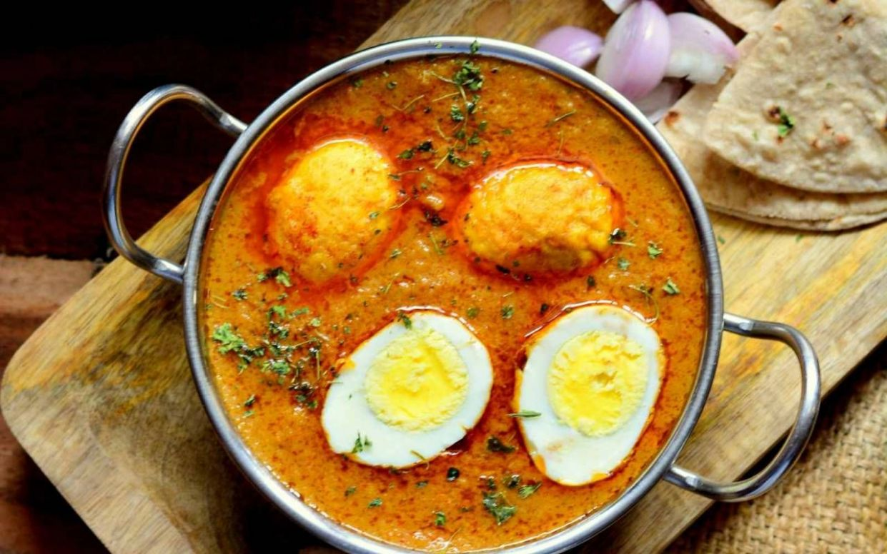 Dimer Malai Curry Recipe (Bengali Style Egg Curry In Coconut Milk) - Recipes Egg Curry