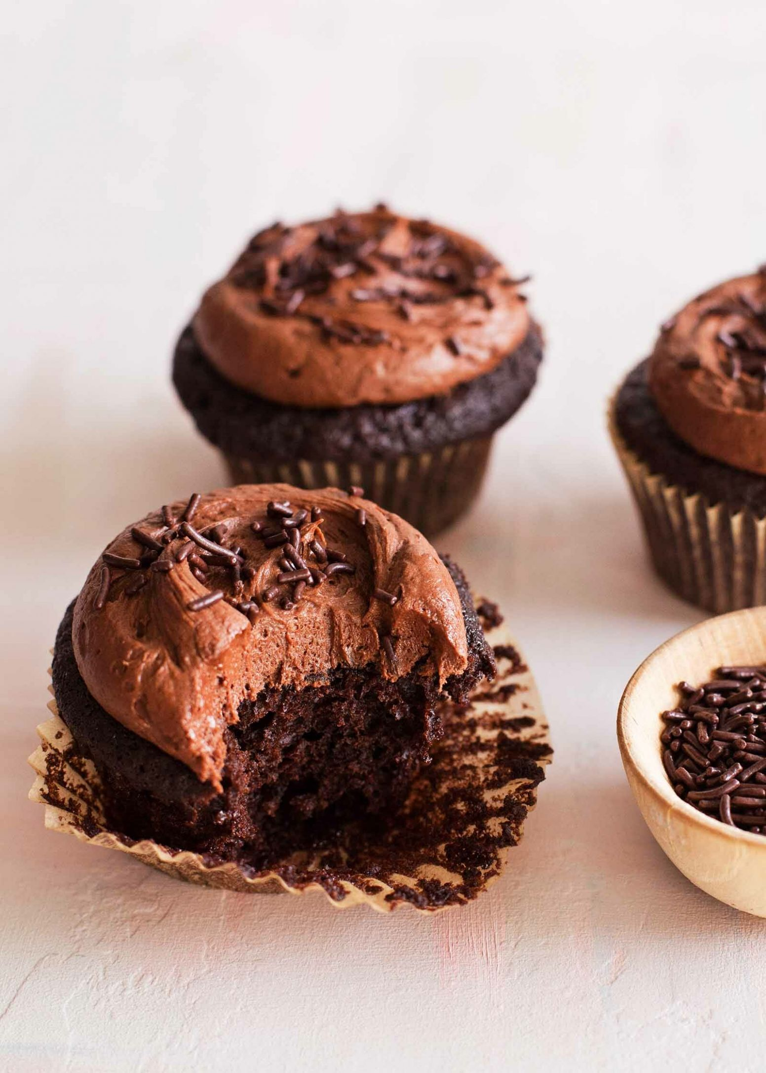 Double Chocolate Cupcakes - Recipes Chocolate Cupcakes