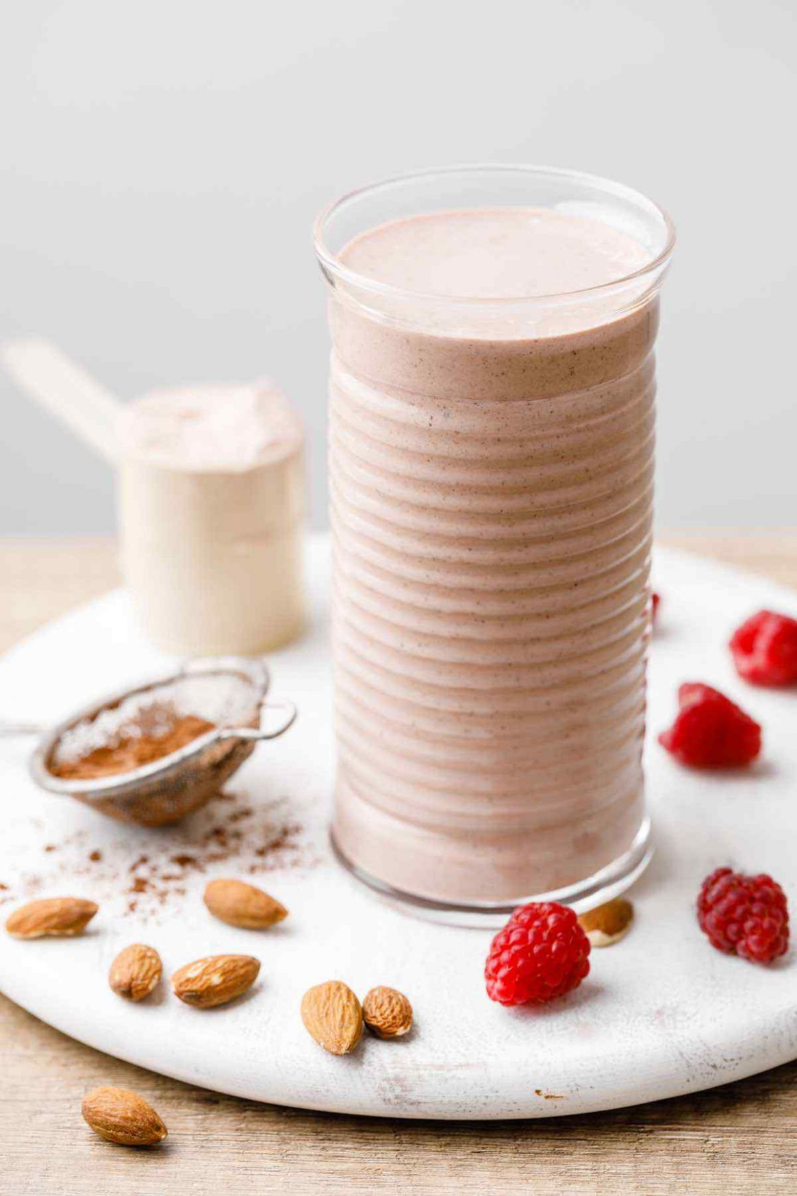 Double Chocolate Protein Shake for Weight Loss - Healthy Substitute - Protein Shake Recipes Weight Loss Chocolate