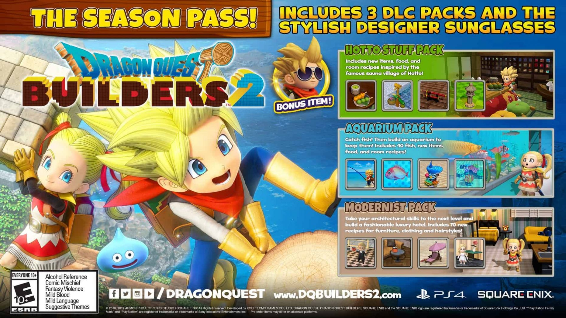 Dragon Quest Builders 11 Gets Even Bigger With New Season Pass ...