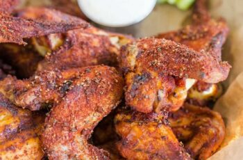 Dry-Rubbed Crispy Baked Chicken Wings
