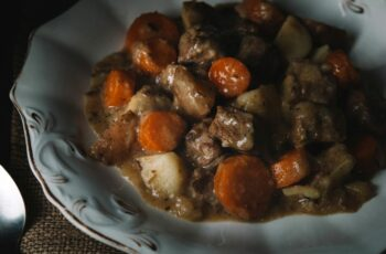 Dutch Oven Beef Stew With Summer Savory - Kelly Neil