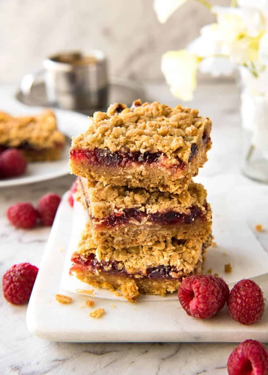 Easiest Ever Raspberry Jam Bars