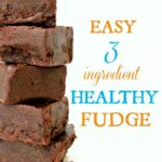 Easy 10 Ingredient Healthy Fudge – Easy Recipes Cocoa Powder
