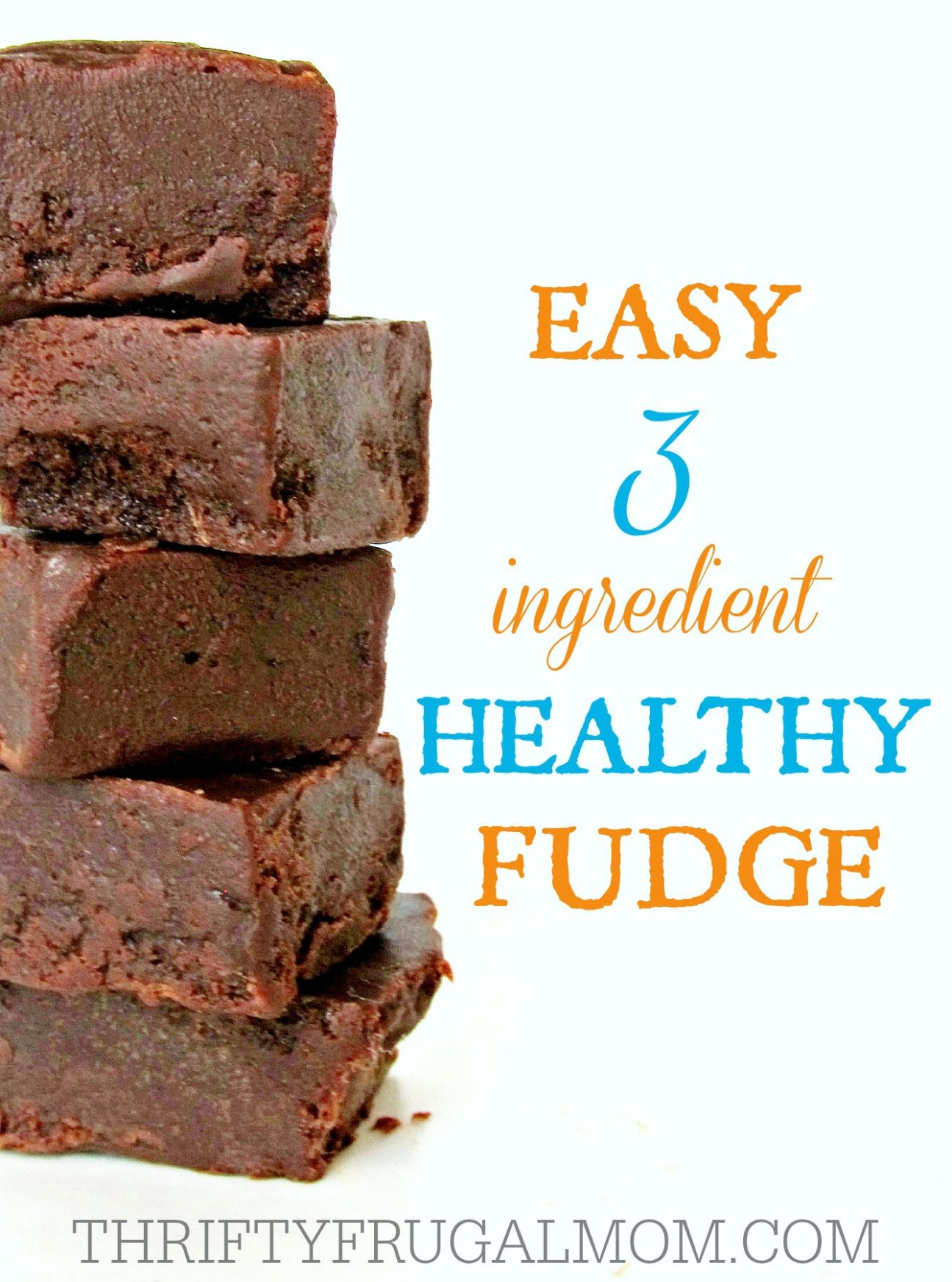 Easy 10 Ingredient Healthy Fudge - Easy Recipes Cocoa Powder