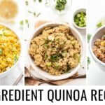 Easy 10 INGREDIENT Quinoa Recipes 👋🏻 Vegan & Gluten Free – Easy Recipes Quinoa