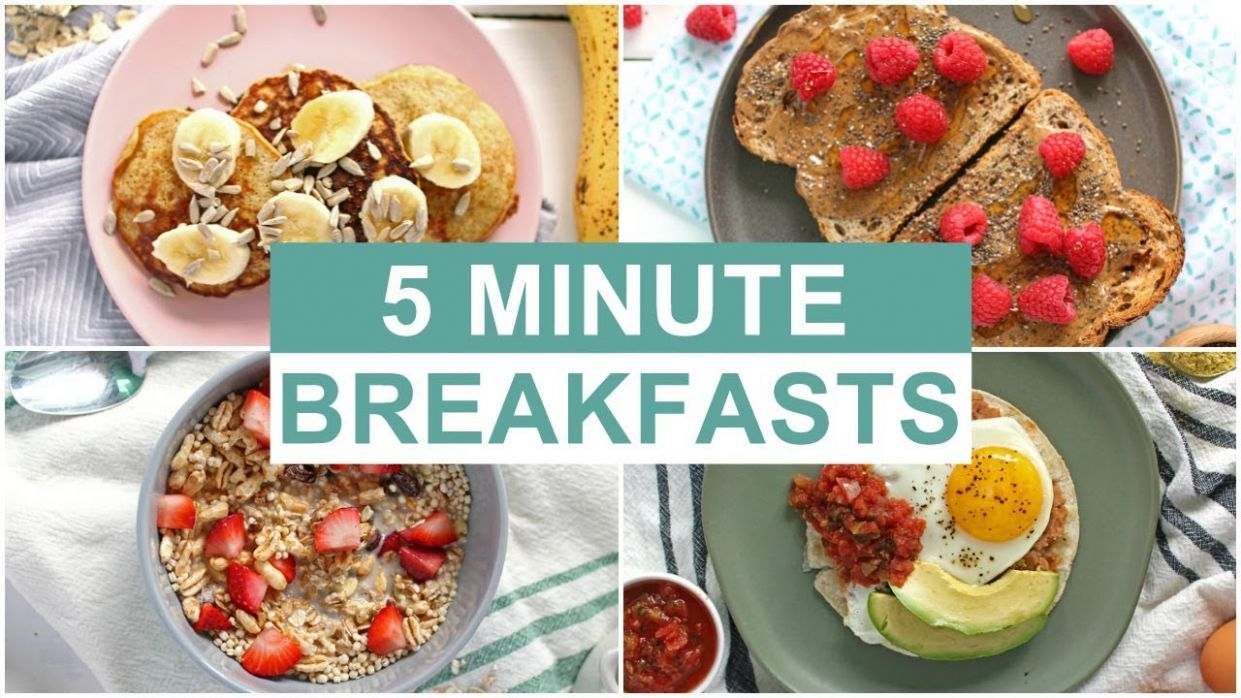 EASY 10 Minute Breakfast Recipes | Healthy Breakfast Ideas - Simple Recipes Healthy Eating