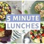 EASY 10 Minute Lunch Recipes | Healthy Lunch Ideas – Simple Recipes Healthy Eating