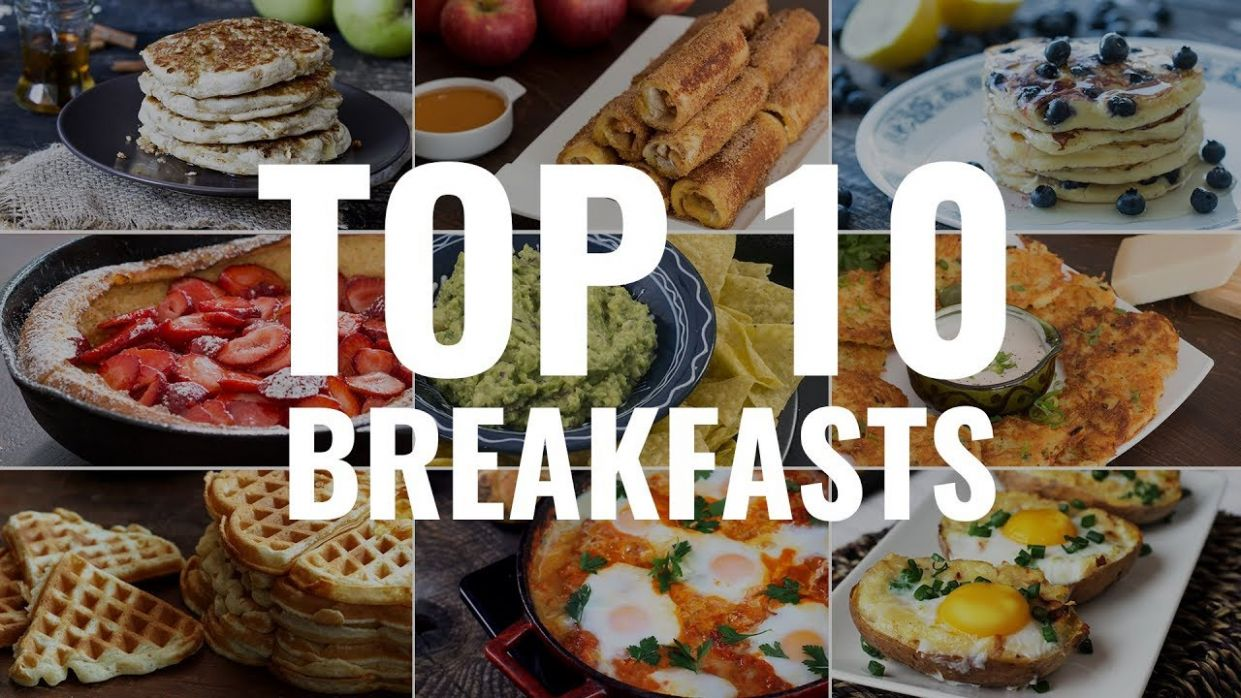 Easy 12 Breakfast Recipes - Breakfast Recipes Video