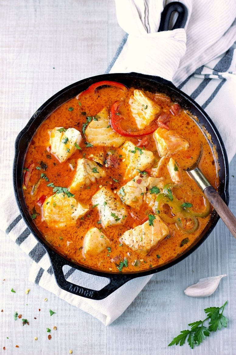 Easy 9-Minutes Fish Stew - Soup Recipes Using Fish Stock